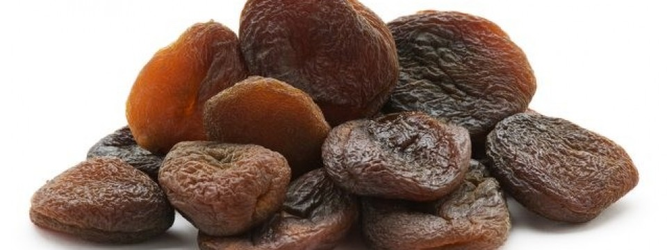 Dried apricot seeds